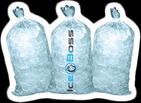 ice bag banner